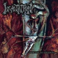 Обложка альбома Incantation «Onward to Golgotha» (1992)