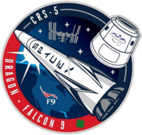 SpaceX CRS-5 patch.png