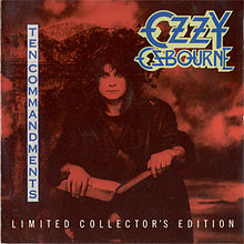Обложка альбома Ozzy Osbourne «Ten Commandments» (1990)