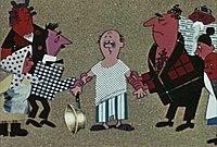Кадр из мультфильма «История одного преступления»