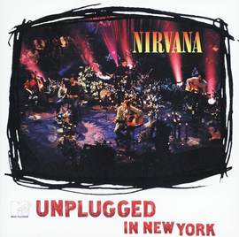 Обложка альбома Nirvana «MTV Unplugged in New York» (1994)