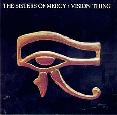 Обложка альбома The Sisters of Mercy «Vision Thing» (1990)