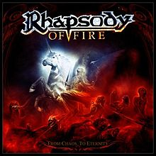 Обложка альбома Rhapsody of Fire «From Chaos to Eternity» (2011)