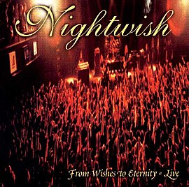 Обложка альбома Nightwish «From Wishes to Eternity» (2001)