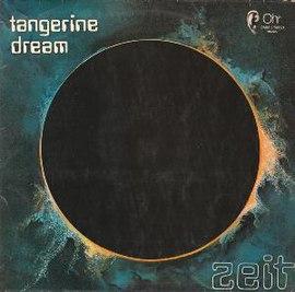 Обложка альбома Tangerine Dream «Zeit» (1972)