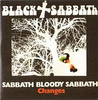 Обложка сингла «Changes» (Black Sabbath, 1972)