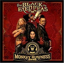 Обложка альбома The Black Eyed Peas «Monkey Business» (2005)