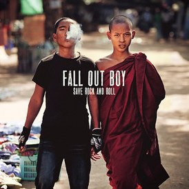 Обложка альбома Fall Out Boy «Save Rock and Roll» (2013)