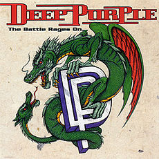 Обложка альбома Deep Purple «The Battle Rages On…» (1993)