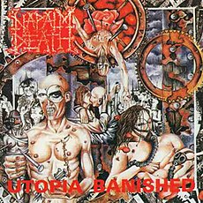 Обложка альбома Napalm Death «Utopia Banished» (1992)