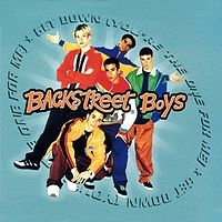 Обложка сингла «Get down (you're the one for me)» (Backstreet Boys, 1996)