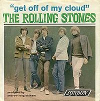 Обложка сингла «Get Off of My Cloud» (The Rolling Stones, 1965)