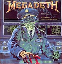 Обложка сингла «Holy Wars... The Punishment Due» (Megadeth, 1990)