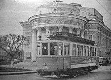 Орёл, трамвай Ф (Коломенский) 106.