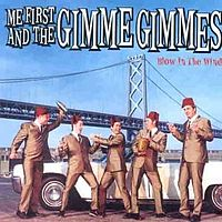 Обложка альбома Me First and the Gimme Gimmes «Blow in the Wind» (2001)