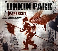 Обложка сингла «Papercut» (Linkin Park, 2001)