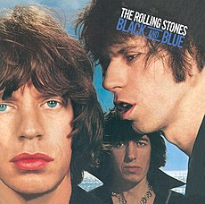 Обложка альбома The Rolling Stones «Black and Blue» (1976)