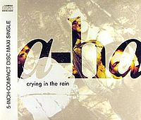 Обложка сингла «Crying in the Rain» (a-ha, 1990)
