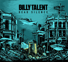 Обложка альбома Billy Talent «Dead Silence» (2012)