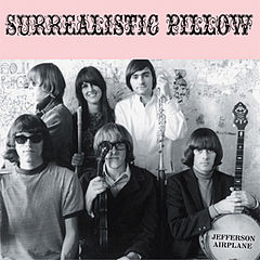 Обложка альбома Jefferson Airplane «Surrealistic Pillow» (1967)