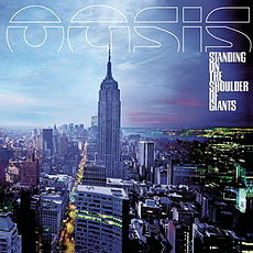 Обложка альбома Oasis «Standing on the Shoulder of Giants» (2000)