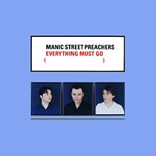 Обложка альбома Manic Street Preachers «Everything Must Go» (1996)