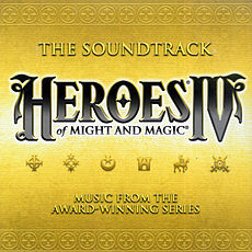 Обложка альбома Роба Кинга, Пола Ромеро, Стива Бака «Heroes of Might and Magic IV: The Soundtrack» ()