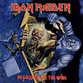 Обложка альбома Iron Maiden «No Prayer for the Dying» (1990)