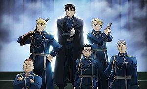 Команда Мустанга - Стальной алхимик