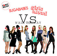 Обложка сингла «Walk This Way» (Sugababes vs Girls Aloud, 2007)