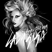 Обложка сингла «Born This Way» (Леди Гаги, 2011)