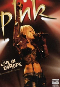 Обложка альбома Pink «Pink: Live in Europe» (2006)