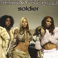 Обложка сингла «Soldier» (Destiny's Child, 2005)