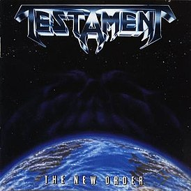 Обложка альбома Testament «The New Order» (1988)