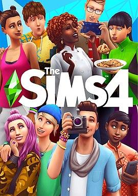 70c516bd85569 Обложка The Sims 4.jpeg