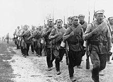 Формирование ркка на марше 1920 год