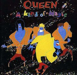 Обложка альбома Queen «A Kind of Magic» (1986)