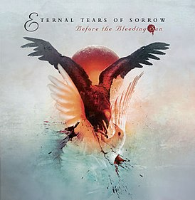 Обложка альбома Eternal Tears of Sorrow «Before the Bleeding Sun» (2006)