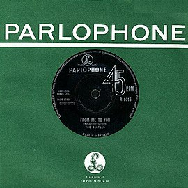 Обложка сингла The Beatles «From Me to You» ()