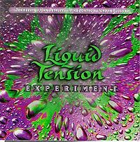 Обложка альбома Liquid Tension Experiment «Liquid Tension Experiment» (1998)