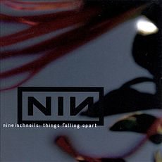 Обложка альбома Nine Inch Nails «Things Falling Apart» (2000)