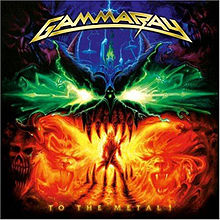 Обложка альбома Gamma Ray «To the Metal» (2010)