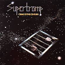 Обложка альбома Supertramp «Crime Of The Century» (1974)