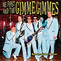 Обложка альбома Me First and the Gimme Gimmes «Ruin Jonny's Bar Mitzvah» (2004)