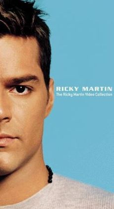 Обложка альбома Рики Мартина «The Ricky Martin Video Collection» (1999)