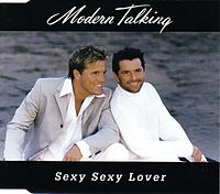 Обложка сингла «Sexy, Sexy Lover» (Modern Talking, 1999)