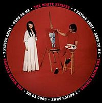 Обложка сингла «Seven Nation Army» (The White Stripes, 2003)