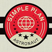 Обложка сингла «Astronaut» (Simple Plan, 2011)