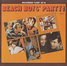 Обложка альбома The Beach Boys «Beach Boys' Party!» (1965)