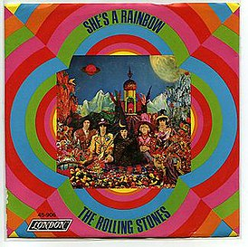 Обложка песни The Rolling Stones «She's a Rainbow»